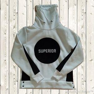 8IGHTH DSTRKT Pullover White Sweatshirt | Superior